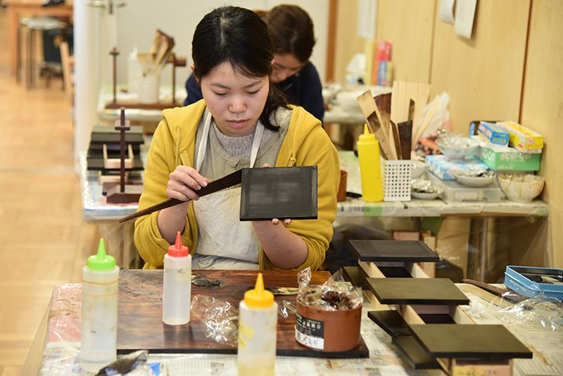 Urushi-Art(Japanese Lacquer)