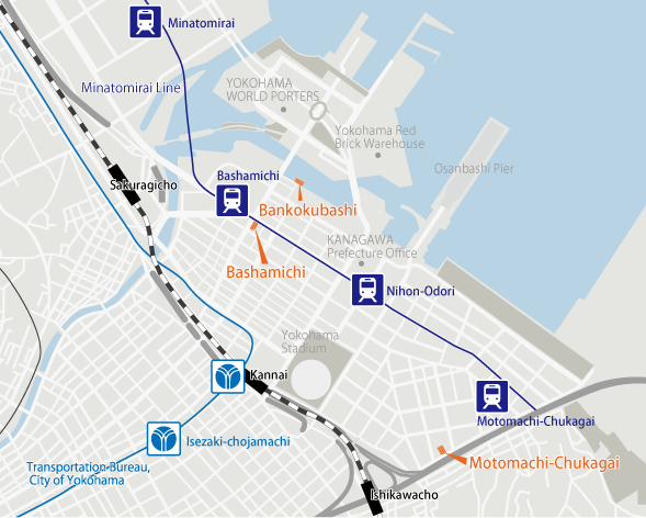 Yokohama Subway Map Pdf.Tokyo University Of The Arts Access
