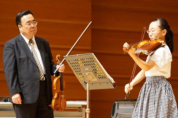 早期教育2015ヴァイオリン01高麗 愛子さん