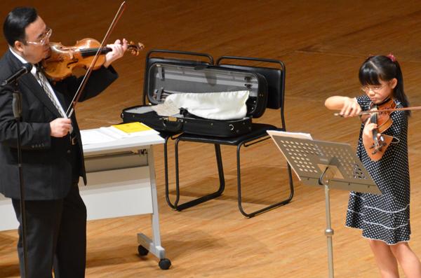早期教育2015ヴァイオリン05福島 知佳さん
