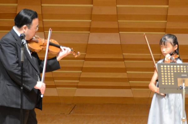 早期教育2015ヴァイオリン06宮本 佳音さん