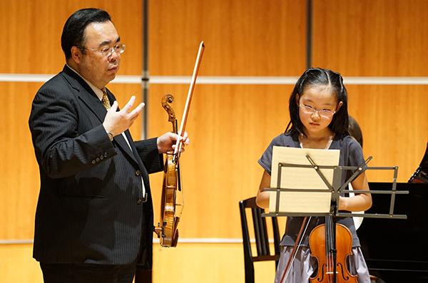 早期教育2015in和歌山ヴァイオリン01井上愛悠奈さん