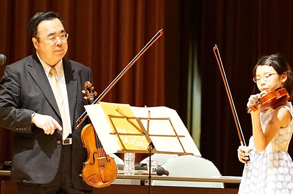 早期教育2015in和歌山ヴァイオリン02田村咲葉さん