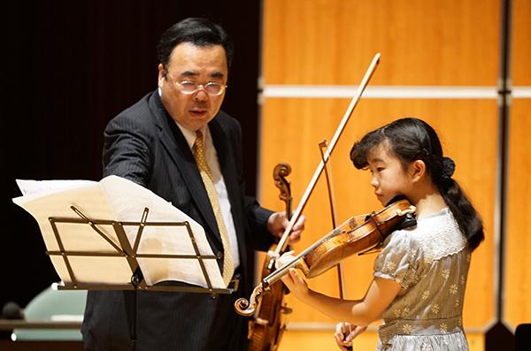早期教育2015in和歌山ヴァイオリン03戸田晴花さん