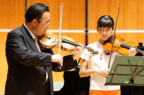 早期教育2015in和歌山ヴァイオリン05木村碧さん