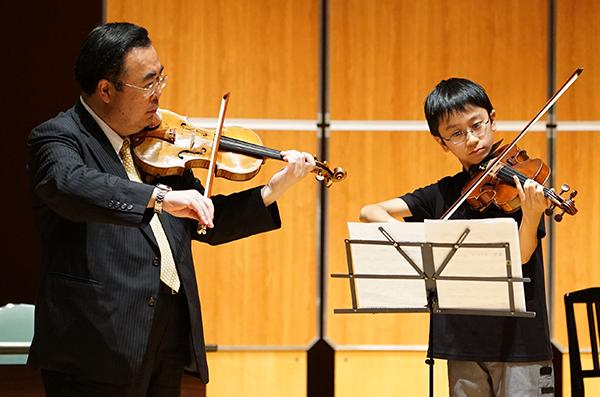 早期教育2015in和歌山ヴァイオリン06窪田隼人さん