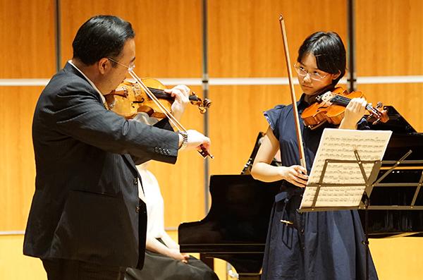 早期教育2015in和歌山ヴァイオリン07巽千夏さん
