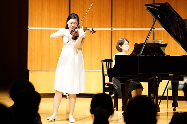 早期教育2015in和歌山ヴァイオリン東京藝術大学岡谷恵光さん