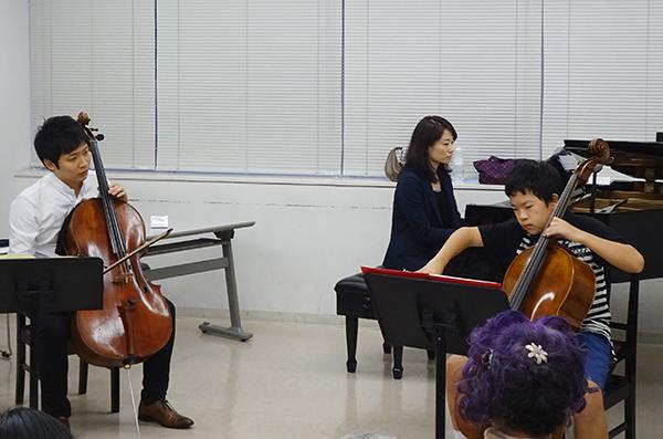 早期教育2015in浜松チェロ04梅田 幸史朗