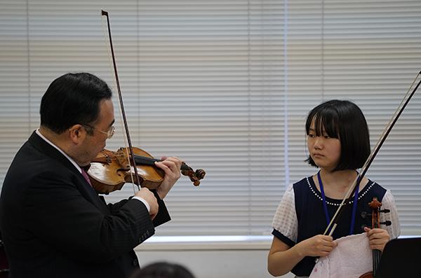 早期教育2015in浜松ヴァイオリン04井藤 恵理香