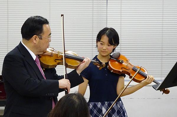早期教育2015in浜松ヴァイオリン07友田 楊子