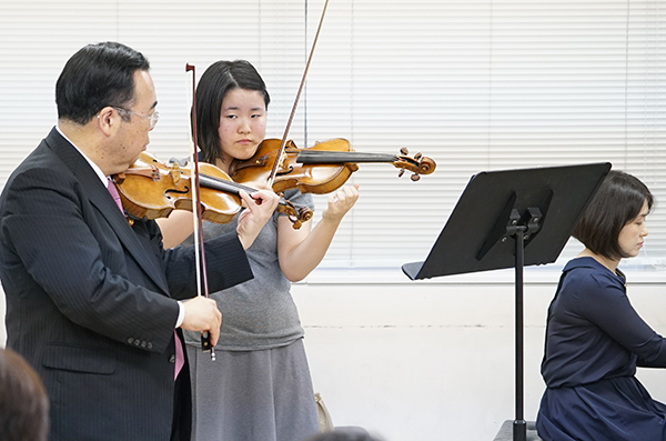 早期教育2015in浜松ヴァイオリン08巽 千夏