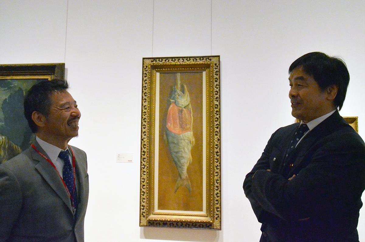 2016/4/21馳浩文部科学相の来学