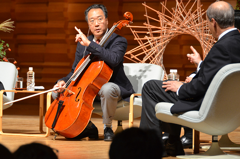 ヨーヨー・マと仲間たちによる討論会 -Discussion among Yo-Yo Ma and his friends Sep 20, 2016