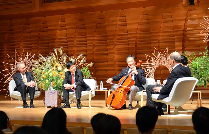 ヨーヨー・マと仲間たちによる討論会 -Discussion among Yo-Yo Ma and his friends Sep 20, 2016