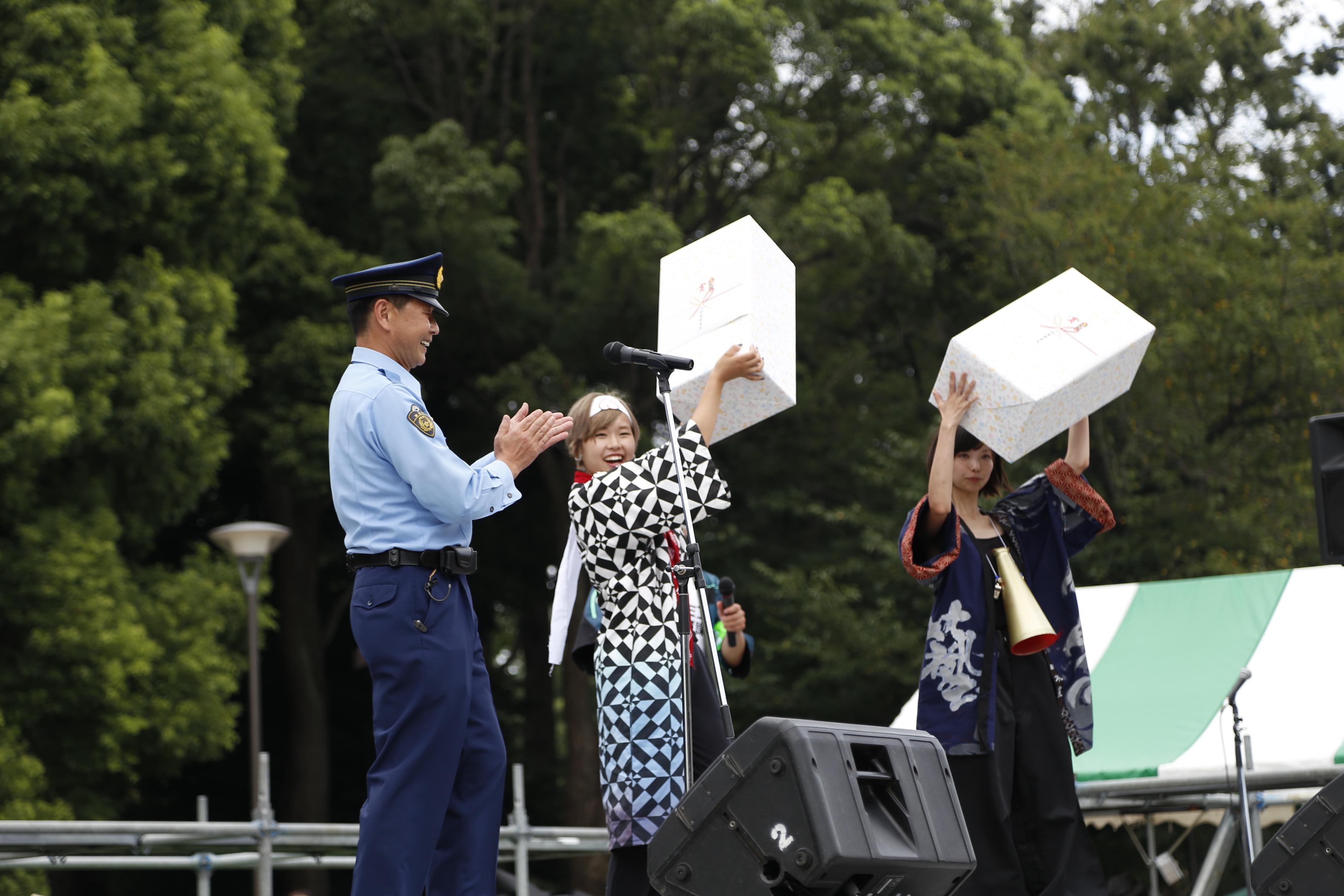 藝祭2016 上野警察署署長賞 日本画・邦楽