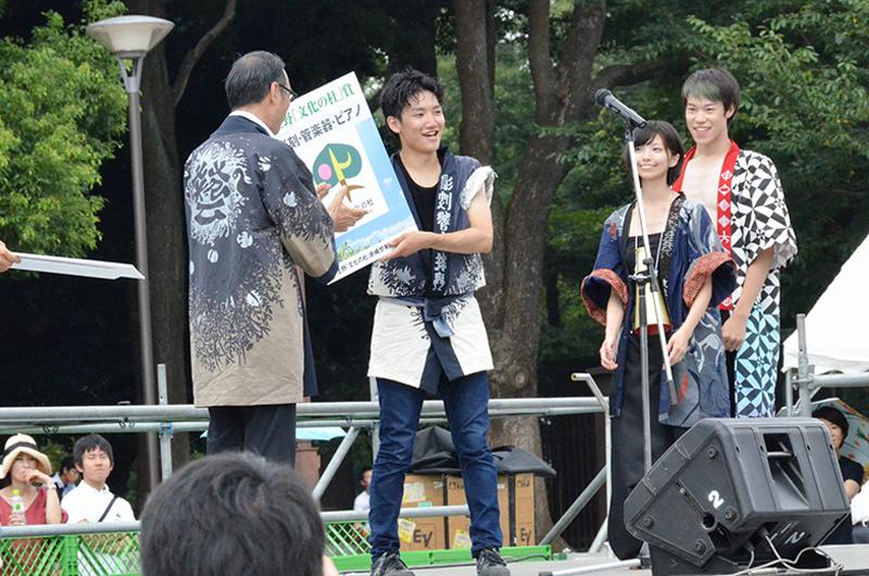 藝祭2016 上野「文化の杜」賞 彫刻・管楽器・ピアノ