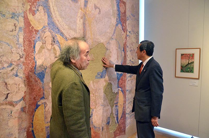田村明比古観光庁長官が藝大COI拠点を視察