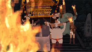 「くらまの火祭」谷耀介