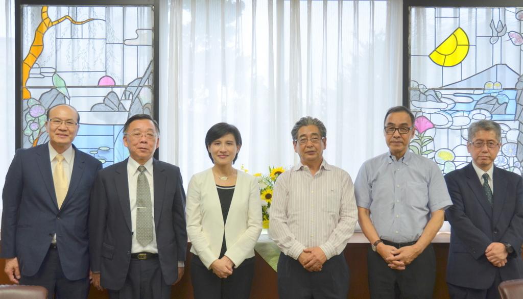 台湾文化部長表敬訪問02