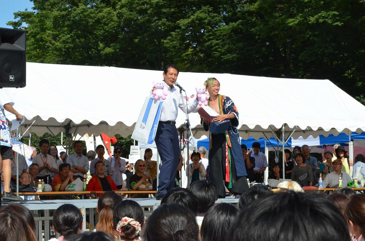 藝祭2017 建築・声楽 さくらパンダ賞